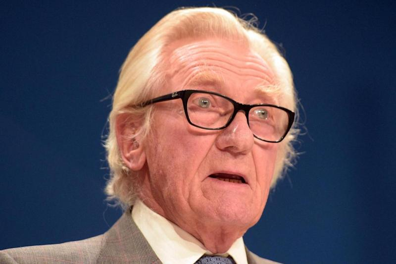 Heseltine: The former advisor said he would stay in his party and fight (PA)