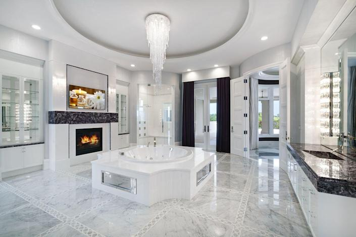 And one of eleven full bathrooms.