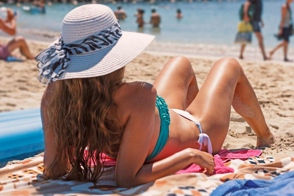 One mum has caused outrage after saying women shouldn't sunbathe topless in family resorts [Photo: Pexels]