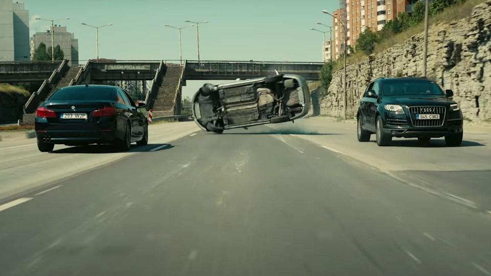 'Tenet' has some crazy car chase scenes