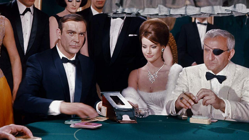 Sean Connery portrayed James Bond in the 1965 spy adventure 'Thunderball'. (Credit: United Artists)