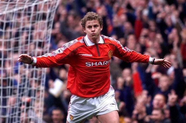 Ole Gunnar Solskjaer was in and out of the United side during his playing days