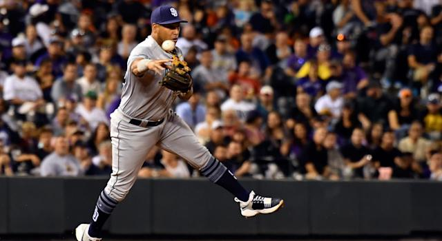 The Toronto Blue Jays have added infielder Yangervis Solarte. (Photo by John Leyba/The Denver Post via Getty Images)