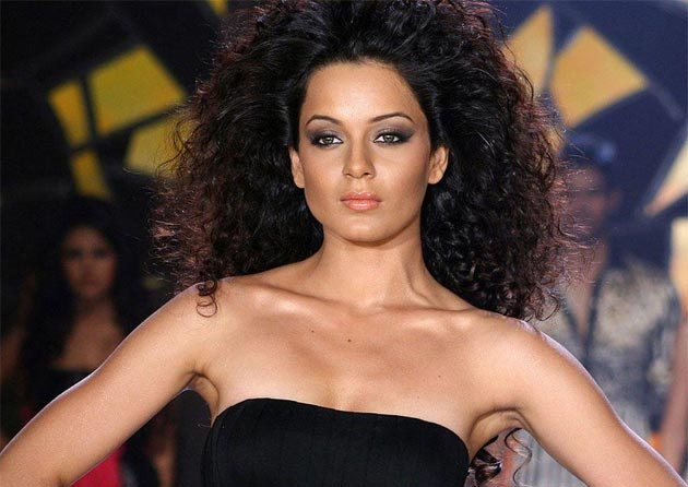 Fashion: Kangana Ranaut went through method acting to get under the skin of the character of a depressed model.