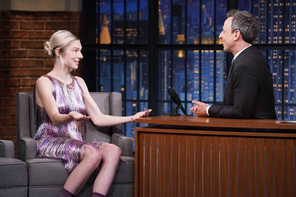 It Can Stay Nighttime Forever, Because Hunter Schafer's Dress Is Lighting Up My Life
