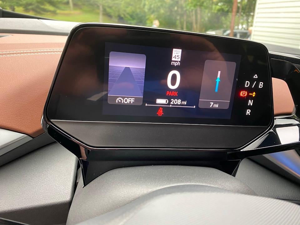 The 2021 Volkswagen ID4's controls are simple. In some cases, overly so.