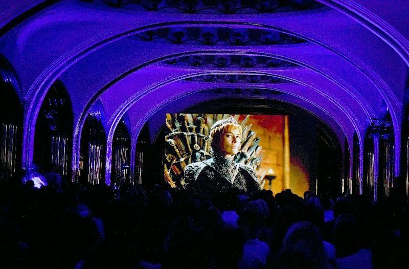 "Even with popular shows like ""Game of Thrones,"" about 32 percent of consumers have canceled or ""traded down"" to a less expensive package, and many young viewers rely entirely on Internet platforms for video (AFP Photo/VASILY MAXIMOV)"