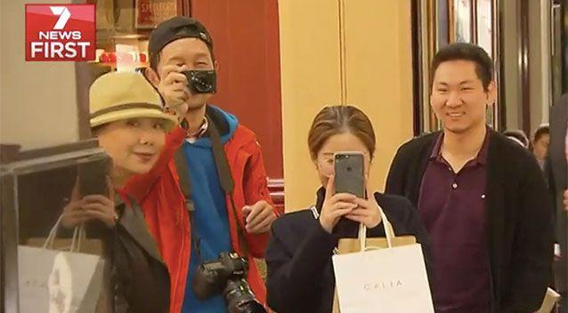 Chinese tourists spend up to $2 billion in Victoria per year. Source: 7 News