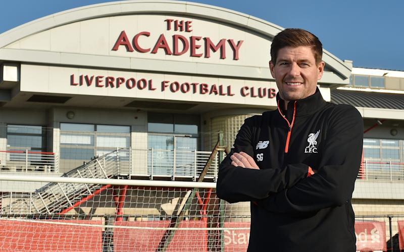 Steven Gerrard - Credit: Getty images