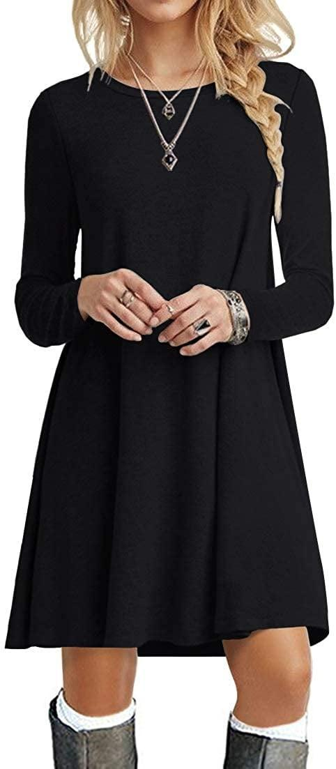 <p><span>Popyoung Long-Sleeve Swing Dress</span> ($20, originally $27)</p>