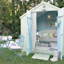 """<p>It's time to roll your sleeves up and turn that derelict shed into a relaxing (and very stylish) haven. <a href=""""http://www.hearthandmade.co.uk/summer-garden-shed-dreams-a-perfect-hideaway/"""" rel=""""nofollow noopener"""" target=""""_blank"""" data-ylk=""""slk:[Photo: Hearthandmade]"""" class=""""link rapid-noclick-resp"""">[Photo: Hearthandmade] </a> </p>"""