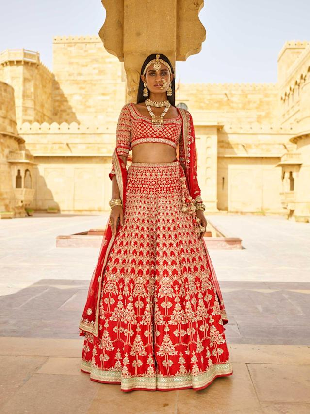 Statement dress by Anita Dongre. (Photo: Courtesy of Anita Dongre)