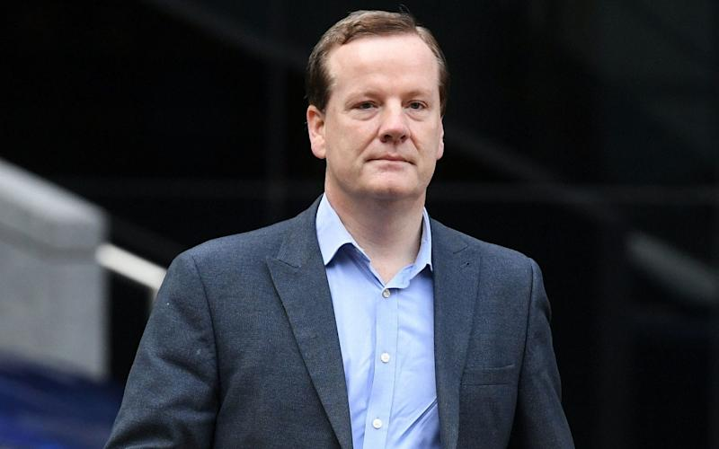 Elphicke arriving at Southwark Crown Court - Kirsty O'Connor/PA