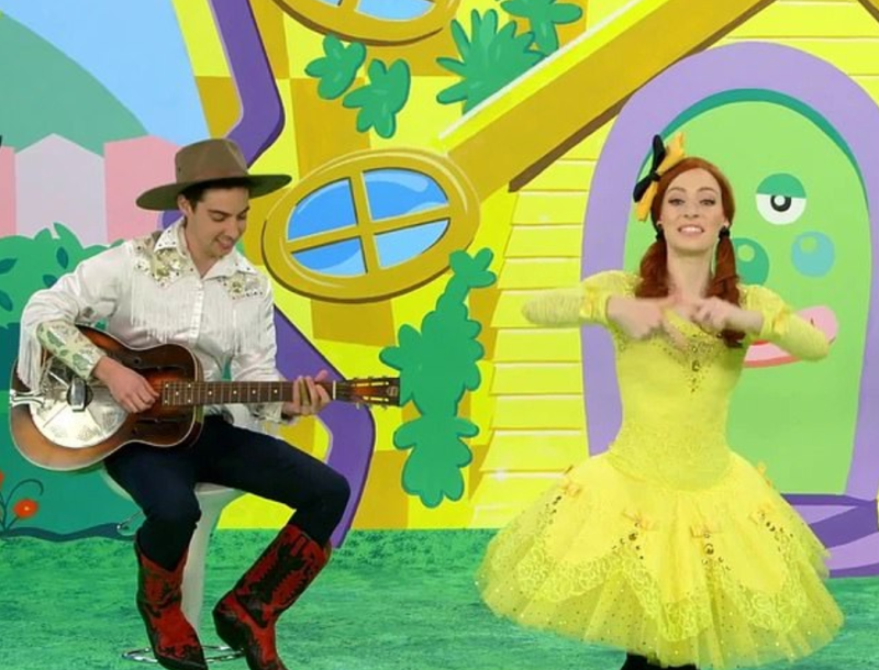 The Wiggles' Emma Watkins has found love again with co-star Oliver Brian. Photo: ABC
