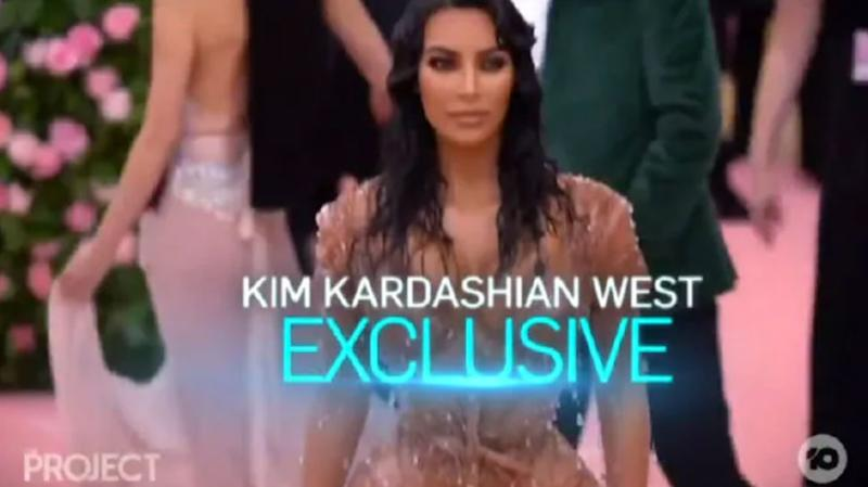 The Sunday Project kim kardashian west exclusive promo