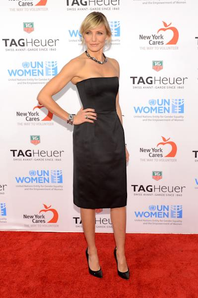 TAG Heuer Celebrates A Night Under The Stars With Ambassador Cameron Diaz To Launch Limited-Edition LINK And Benefit UN Women And New York Cares' Sandy Relief Effort