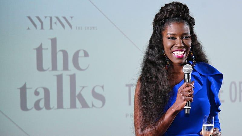 Bozoma Saint John speaks at NYFW: The Talks during New York Fashion Week: The Shows on February 06, 2020 in New York City.