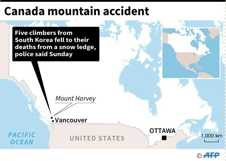 Canada mountain accident