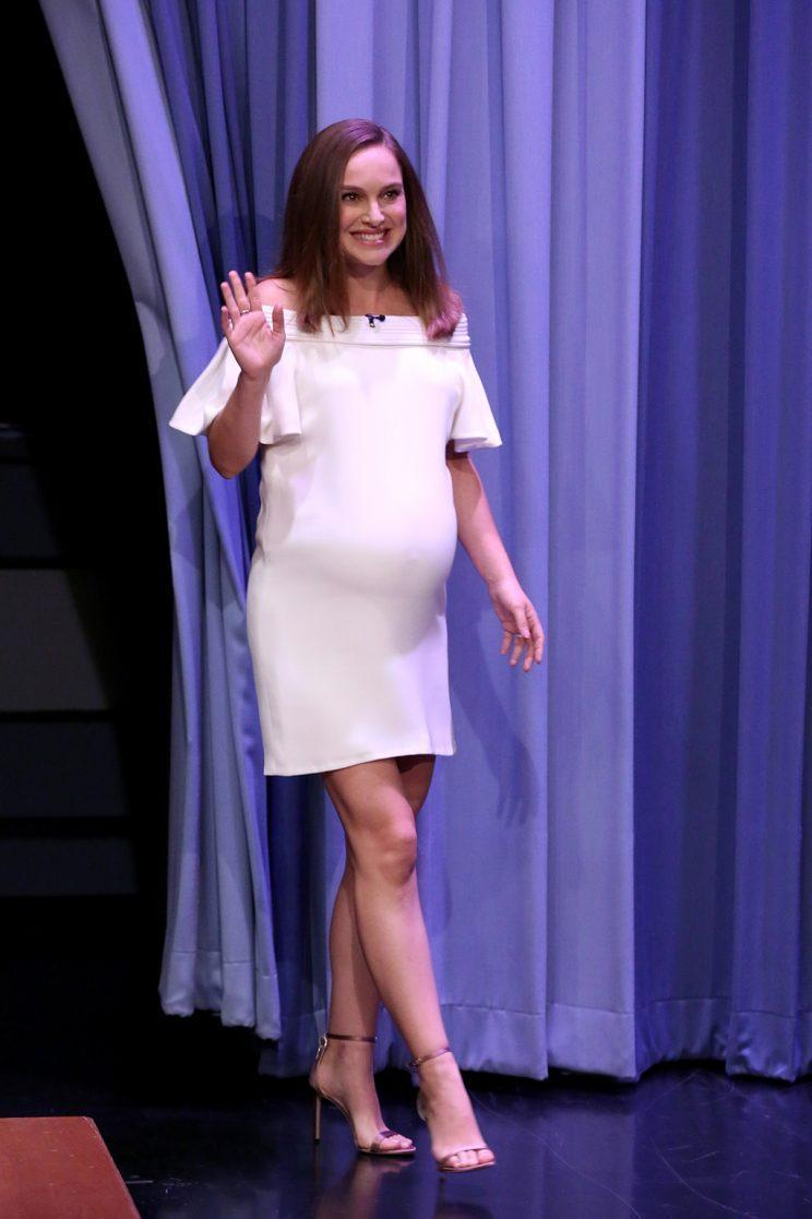 Natalie Portman appears on The Tonight Show (Photo by: Andrew Lipovsky/NBC/NBCU Photo Bank via Getty Images)