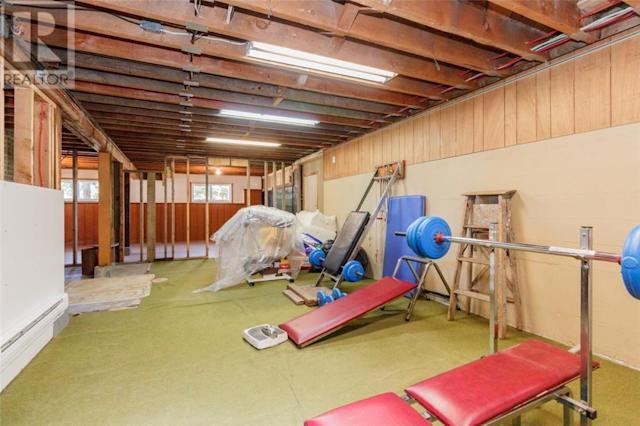 <p><span>4546 Markham St., Victoria, B.C.</span><br> The basement is unfinished, and has lots of potential. Outside, there is a two-stall barn and several out buildings with electricity and water.<br> (Photo: Zoocasa) </p>