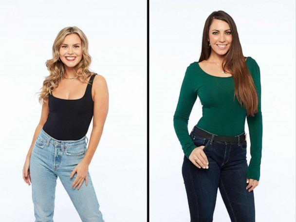 PHOTO: Anna and Victoria from season 25 of ABC's 'The Bachelor.' (Craig Sjodin/ABC)