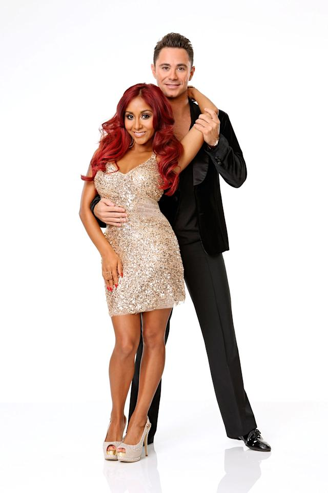 "Nicole ""Snooki"" Polizzi joins first time professional partner Sasha Farber on ABC's ""Dancing With the Stars"" Season 17."