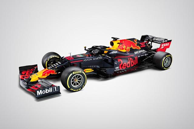 "Red-Bull-Honda RB16 <span class=""copyright"">Red Bull Content Pool</span>"