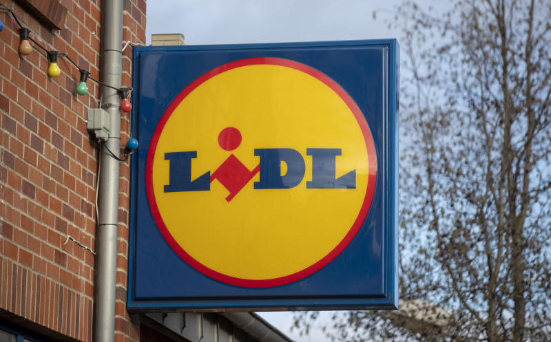 A general view of a Lidl store in Crowthorne, Berkshire. (Photo by Steve Parsons/PA Images via Getty Images)