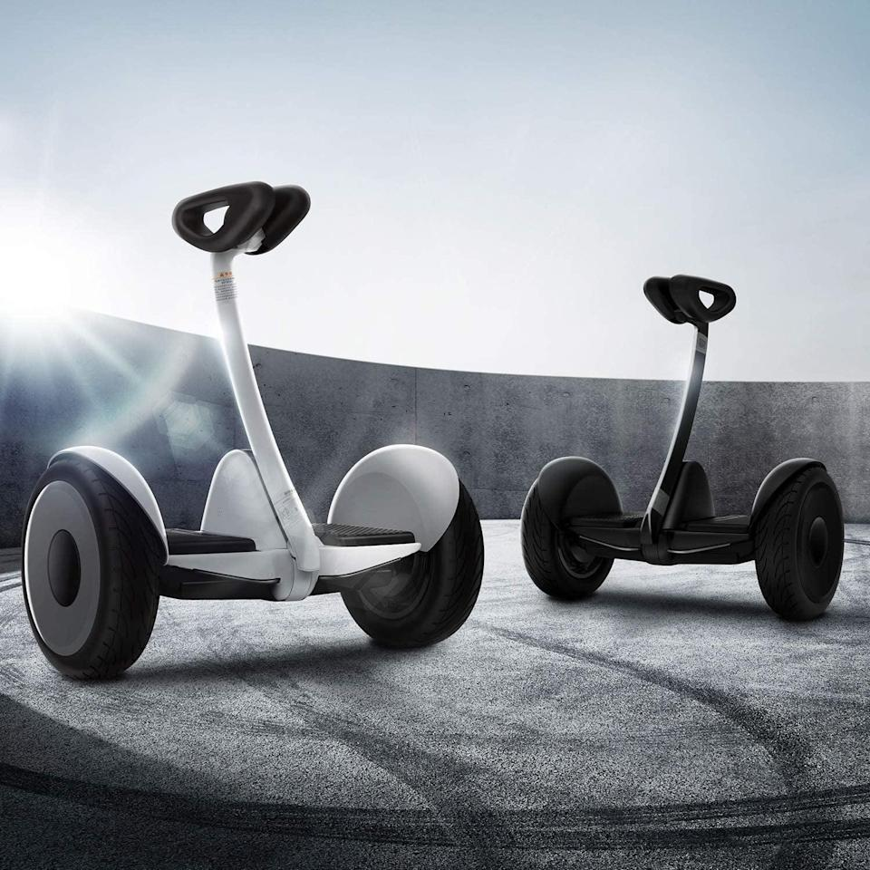 <p>Both kids and adults will freak out over this <span>Segway Ninebot S Smart Self-Balancing Electric Transporter</span> ($490).</p>