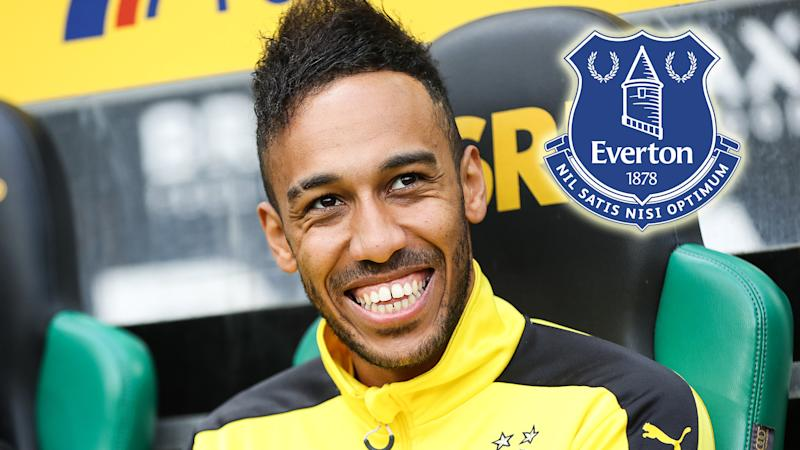 Everton boss Sam Allardyce confirms Pierre Emerick Aubameyang transfer is possible