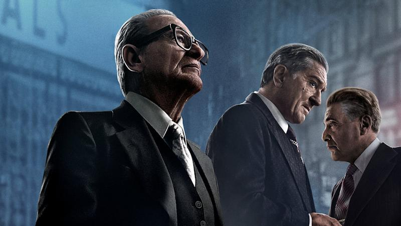Joe Pesci, Robert De Niro and Al Pacino appear on screen together for the first time in Martin Scorsese drama 'The Irishman'.