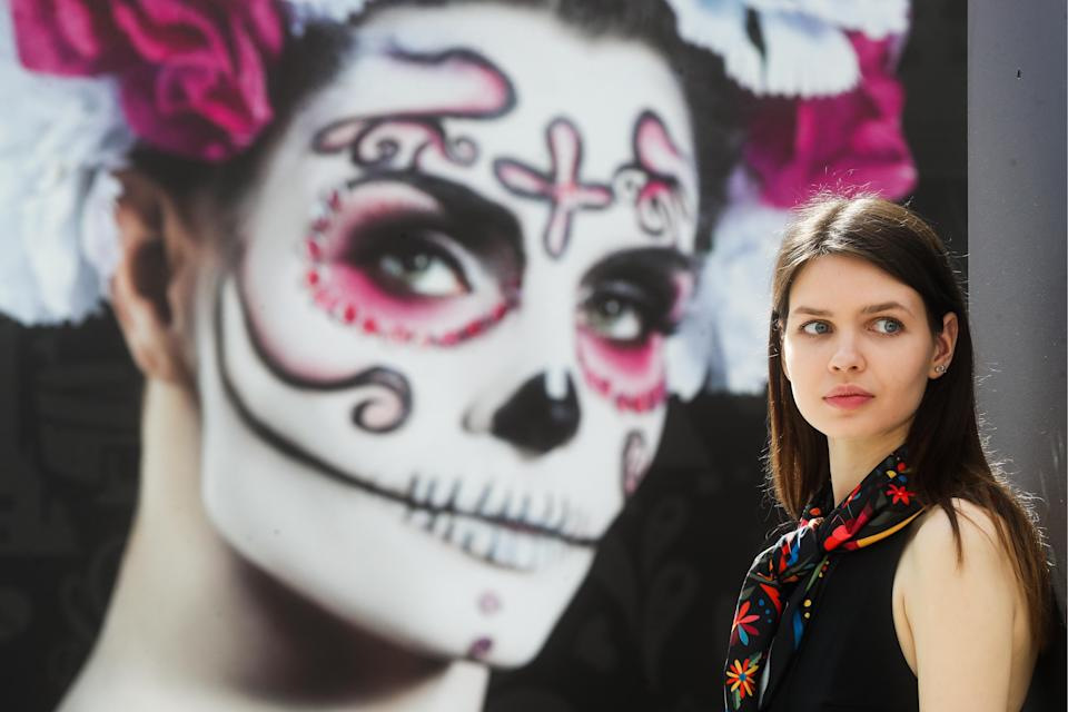 <p>The opening of the Una Probadita de Mexico Fan House during the 2018 FIFA World Cup at Moscow's Gostiny Dvor. Vyacheslav Prokofyev/TASS (Photo by Vyacheslav Prokofyev\TASS via Getty Images) </p>