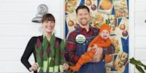 """<p>Trick or treat! If you're ready to start thinking about Halloween costumes for your household, look no further than our roundup of the best DIY family Halloween costumes. We scoured the web to find plenty of options for families of all sizes. Whether you've got a group of three, a family of four, or are looking for ideas that can work for an even larger crew of kiddos, you'll find ideas aplenty. The same is true if you're a family of two, or if you're on the hunt for the <a href=""""https://www.countryliving.com/diy-crafts/g4537/best-baby-halloween-costumes/"""" rel=""""nofollow noopener"""" target=""""_blank"""" data-ylk=""""slk:best baby Halloween costumes"""" class=""""link rapid-noclick-resp"""">best baby Halloween costumes</a> that will work with a really little guy or gal. </p><p>Of course, just because you don't want to go the store-bought route doesn't mean you have to work all weekend to create these awesome family Halloween costumes. Many will work as <a href=""""https://www.countryliving.com/diy-crafts/g23785711/last-minute-halloween-costumes/"""" rel=""""nofollow noopener"""" target=""""_blank"""" data-ylk=""""slk:last-minute Halloween costumes"""" class=""""link rapid-noclick-resp"""">last-minute Halloween costumes</a>, because they require little-to-no sewing and can be put together from pieces you may already have around the house, or that can be quickly ordered from Amazon. The costume ideas we've compiled here are funny, creative, heart-warming, and downright cool, which means you'll be able to convince even the most finicky kids to get into the Halloween spirit. So go forth, dress up, and celebrate the season with the best family Halloween costume ideas of 2021—and create tons of memories in the process! And if you're after even more ideas, check out our guides to the <a href=""""https://www.countryliving.com/diy-crafts/a22142517/diy-mens-halloween-costumes/"""" rel=""""nofollow noopener"""" target=""""_blank"""" data-ylk=""""slk:best men's Halloween costumes"""" class=""""link rapid-noclick-resp"""">best men's Halloween costumes</a>"""