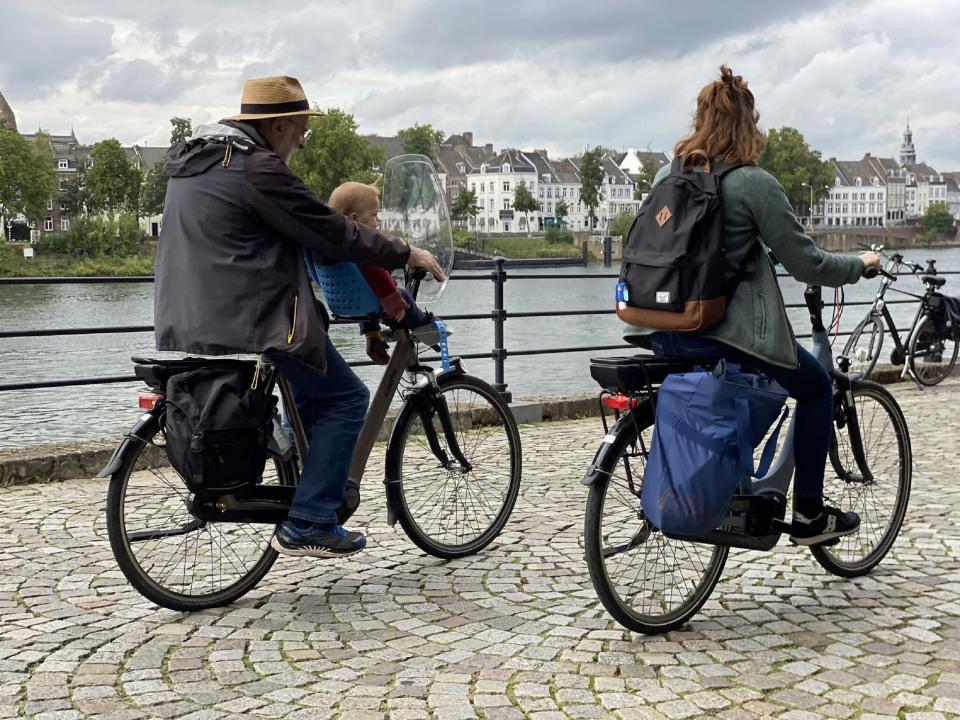 The Netherlands counts more bikes (about 22.9 million) than inhabitants (17.2 million).