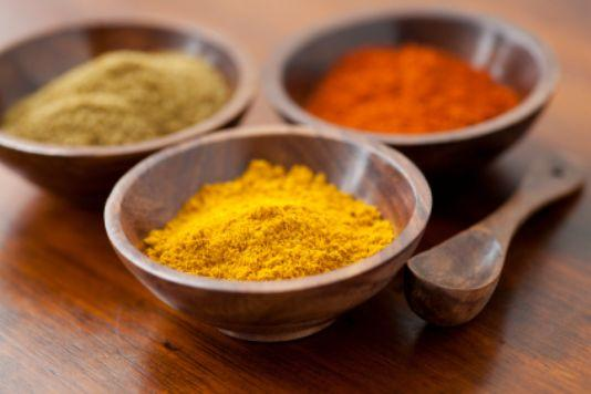 The top five spices in Indian food