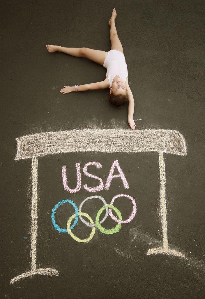 """<p>Celebrate your little champion with a chalk art scene meant to mimic an Olympic sporting competition. Customize it to reflect any athletic aptitude or passion.</p><p><em><a href=""""http://www.theburghbaby.com/adventures-in-chalk/chalk-adventures/"""" rel=""""nofollow noopener"""" target=""""_blank"""" data-ylk=""""slk:Get the tutorial from Burgh Baby »"""" class=""""link rapid-noclick-resp"""">Get the tutorial from Burgh Baby »</a></em></p>"""