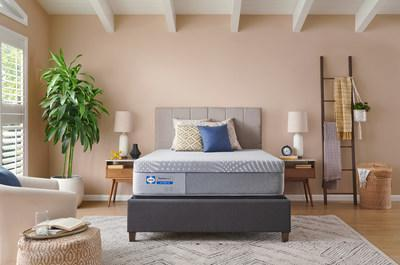 Sealy(r) introduces an all-new, expanded mattress portfolio with choices for every sleeper, regardless of their shape, size, sleep style or budget. Pictured, the Lacey Mattress from the Sealy Posturepedic(r) collection.