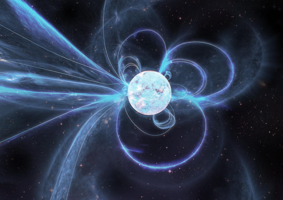 The mysterious magnetic star has been described as a 'missing link' (OZGRAV)