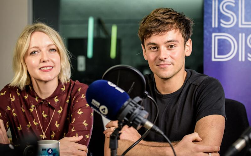 Tom Daley has been interviewed by Radio 4's Desert Island Discs, the first to be hosted by Lauren Laverne  - BBC