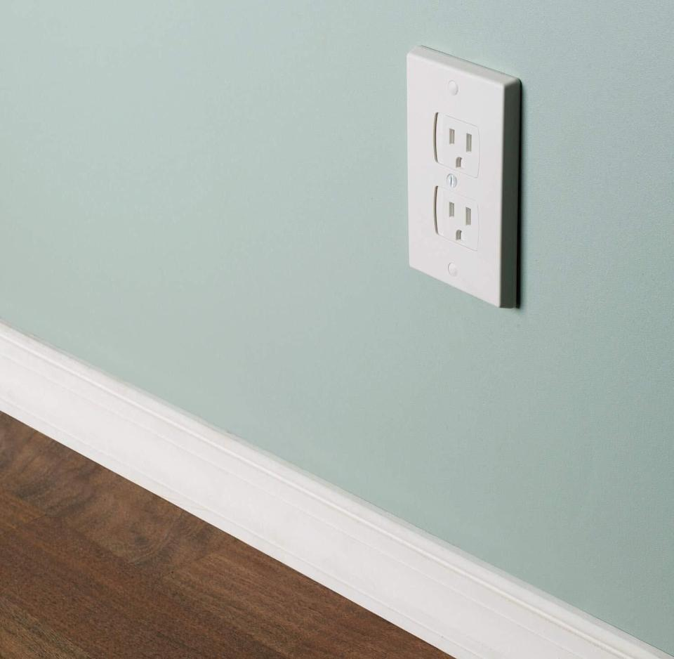 """Thesego way beyond those crummy plastic caps. Plus, they will make your home look way less baby-proofed, while keeping little ones safe.<br /><br /><strong>Promising review:</strong>""""We have been behind the curve on babyproofing and bought a big pack of the plastic two-prong outlet covers.<strong>My kiddo is determined to stick anything and everything he can into outlets and wants so badly to peel the individual outlet covers off.</strong>I bought a four-pack of these covers and they are AMAZING! They're easy to install (just don't forget the little plastic spacer between the actual bare outlet and the back of the cover) and SO MUCH BETTER than the cheap plastic covers. For the outlets that were the kiddo's 'favorites' to try to bust into, these are SO GOOD.<strong>The amount of force needed to slide the plate over to use is more than a toddler can muster, but not hard for an adult.</strong>It's very easy to plug things in, and take them out, but the baby doesn't even mess with these outlets anymore because the thrill of death is beyond his tiny finger strength. Installing a few of these in high kid-traffic areas has been WELL worth it! Thanks for a great product."""" — <a href=""""https://www.amazon.com/gp/customer-reviews/RE23713O9T3L?&linkCode=ll2&tag=huffpost-bfsyndication-20&linkId=4ce6b95aaf75f429f4ab0e39d6badae3&language=en_US&ref_=as_li_ss_tl"""" target=""""_blank"""" rel=""""noopener noreferrer"""">Katie Ackerman</a><br /><br /><strong><a href=""""https://www.amazon.com/dp/B01FX8836G?&linkCode=ll1&tag=huffpost-bfsyndication-20&linkId=a1d76cd87ba976af3eb78f544a8cf99b&language=en_US&ref_=as_li_ss_tl"""" target=""""_blank"""" rel=""""noopener noreferrer"""">Get them from Amazon for $10.99.</a></strong>"""