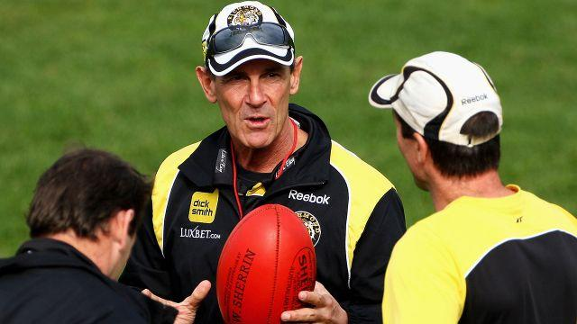 Wallace in his days with Richmond. Image: Getty