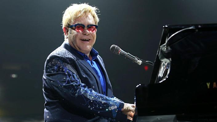 """<ul> <li><strong>Net worth: </strong>$500 million</li> </ul> <p>Elton John ranks third on the list on Billboard's top 125 musical artists of all time. In the 1990s, he was infamous for his epic spending sprees but has since reeled it in and made savvy <span>investments in art and real estate. He's now worth a tidy half-billion dollars.</span></p> <p><em><strong>Quiz: <a href=""""https://www.gobankingrates.com/net-worth/celebrities/whos-richer-celebrity-or-their-famous-parent/?utm_campaign=1120407&utm_source=yahoo.com&utm_content=14&utm_medium=rss"""" rel=""""nofollow noopener"""" target=""""_blank"""" data-ylk=""""slk:Who's Richer — This Celebrity or Their Famous Parent?"""" class=""""link rapid-noclick-resp"""">Who's Richer — This Celebrity or Their Famous Parent?</a></strong></em></p> <p><small>Image Credits: JStone / Shutterstock.com</small></p>"""
