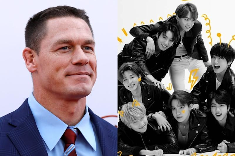 John Cena, BTS to Feature Together on Tonight Show Starring Jimmy Fallon And Fans Are Freaking Out