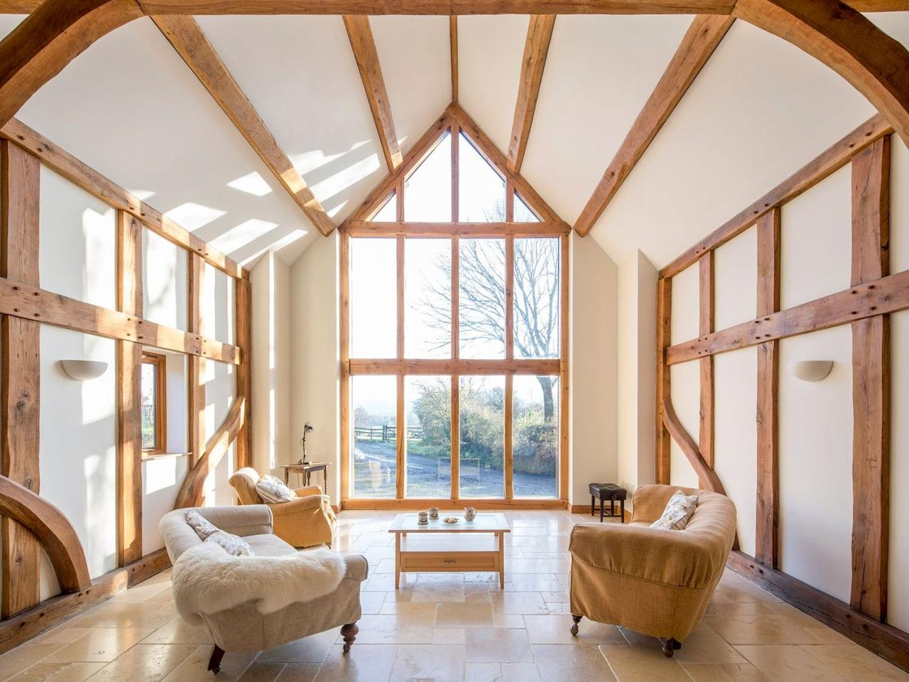 "<p>This stunning 16th century couples' retreat in Powys is a barn conversion which sits in the owner's three acres of private grounds. With floor-to-ceiling windows and a warm wood burning stove to relax in front of with a glass of bubbly, this is the perfect base for couples planning a remote countryside break.  </p><p>It's incredibly spacious and private, with features including a king-sized bed, a luxurious kitchen for cooking romantic dinners and gorgeous surroundings. You might wish to hike the nearby hills or take a trip to the market town of Bishop's Castle.</p><p><a class=""body-btn-link"" href=""https://go.redirectingat.com?id=127X1599956&url=https%3A%2F%2Fwww.sykescottages.co.uk%2Fcottage%2FMid-Wales-Cardigan-Bay-Snead%2FTy-Camlad-17187.html&sref=https%3A%2F%2Fwww.redonline.co.uk%2Ftravel%2Finspiration%2Fg28750924%2Fcouples-retreat-uk%2F"" target=""_blank"">SEE INSIDE</a> <strong>From £275 for three nights</strong></p>"