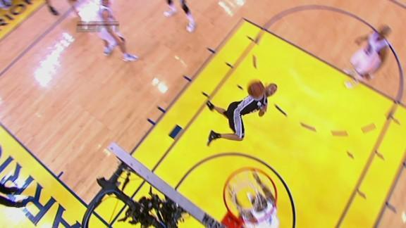 Tony Parker shoots from the hip for a wild and-one basket in Spurs-Warriors Game 3 (Video)