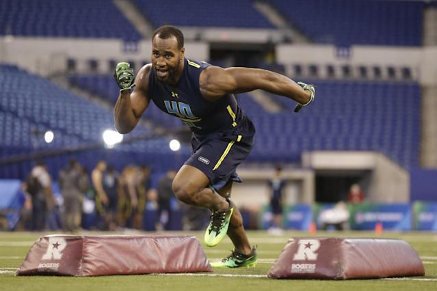 Temple's Haason Reddick came out of nowhere to develop into a first-round prospect. (AP)