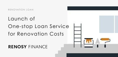 One-stop loan service for renovation costs