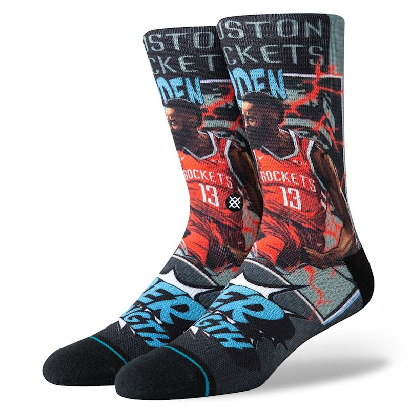 James Harden Rockets Crew Socks