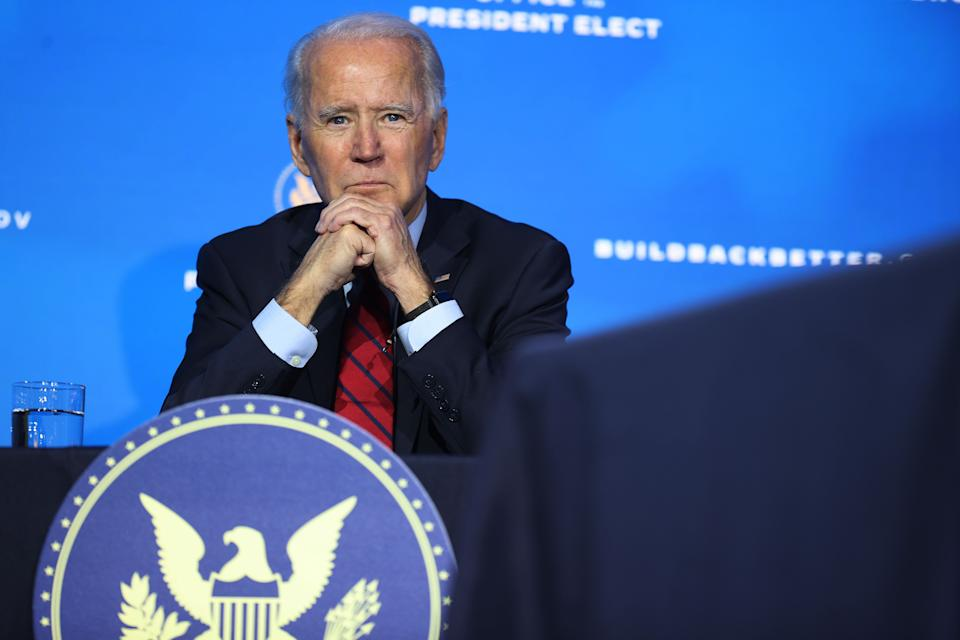 President-elect Joe Biden could immediately open the books on the Trump administration to allow independent prosecutors to decide for themselves to press cases or not. (Photo: Chip Somodevilla via Getty Images)