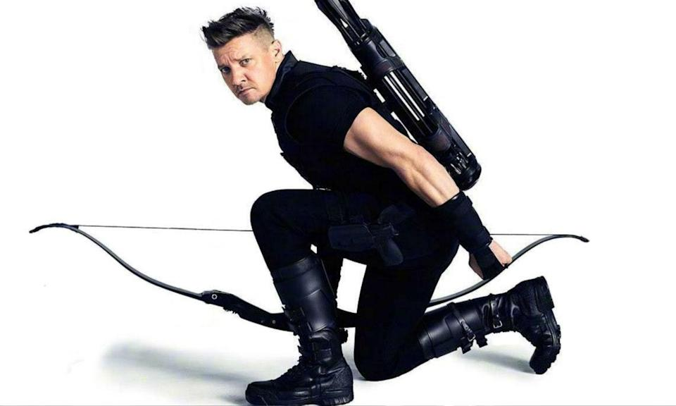 """<p><span><strong>Played by:</strong> Jeremy Renner</span><br><strong>Last appearance: </strong><i><span>Captain America: Civil War</span></i><br><span><strong>What's he up to?</strong> Having sided with Captain America during <em>Civil War,</em> Hawkeye was sent to the Raft along with his fellow renegades. He was eventually freed by Steve and decided to retire from active duty after returning home to his family. It's not yet clear what role Hawkeye will play in Infinity War as, like Ant-Man, he has been absent from all marketing material to date. Co-director <a rel=""""nofollow noopener"""" href=""""https://www.cinemablend.com/news/2388641/wheres-hawkeye-in-avengers-infinity-war-the-russo-brothers-explain"""" target=""""_blank"""" data-ylk=""""slk:Joe Russo said"""" class=""""link rapid-noclick-resp"""">Joe Russo said </a>""""Hawkeye's on his own journey in this movie.""""</span> </p>"""